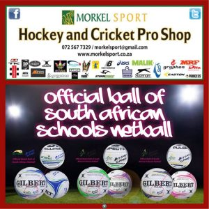 Official Ball of South African Schools Netball #GILBERT