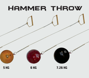 Athletics Hammer Throw Equipment