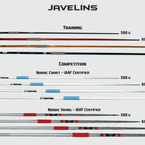 Athletics Javelins