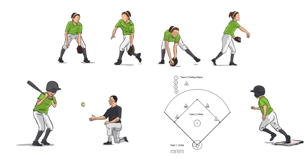 Simple Softball Drills