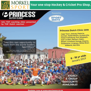 Princess Hockey Coaching Clinic