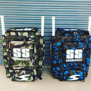 SS Duffle Camo Cricket Kit Bag