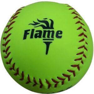 FLAME SOFTBALL BALL