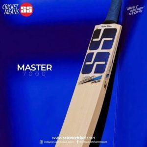 SS Master 7000 Cricket Bat (Short Handle)